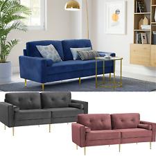 Schlafsofa?3-Sitzer Sofa, Couch für Wohnzimmer Funktionssofa, Bezug aus Samt