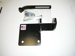 WILLYS JEEP 12 VOLT ALTERNATOR BRACKET KIT FOR 134 L AND F HEAD 4CYL ENGINES