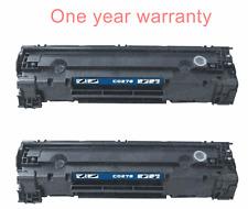 2 non-OEM black print toner ink cartridge for HP laser-jet Pro M1536dnf printer