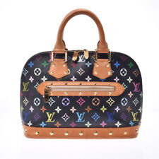 LOUIS VUITTON multicolor Alma black M92646 Hand Bag 800000082196000
