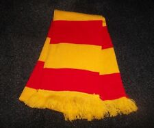 RED AND YELLOW SCARF