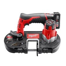milwaukee metal saw. milwaukee 2429-21xc 12-volt cordless m12 li-ion sub-compact band saw kit metal