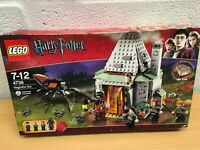 HARRY POTTER LEGO 4738 HAGRID'S HUT NEW SEALED (B)