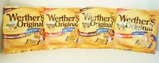 Werther's Original Sugar Free Coffee and Caramel Hard Candy 1.46 oz. 4 Pack Bags