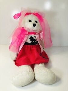 """Chantilly Lane Musicals OLIVIA Singing Plush Bear """"YOU'RE THE ONE THAT I WANT"""""""