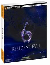 BRADY GAMES -CAPCOM-RESIDENT EVIL 6 OFFICIAL GAME GUIDE