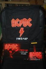 "AC/DC "" PWR Up ! Power up""  ZAINETTO + MATERIALE PROMO SONY ITALIA"