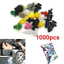 1000pc Car Trim Body Clip Kit Rivet Retainer Door Panel Bumper Plastic Fastener