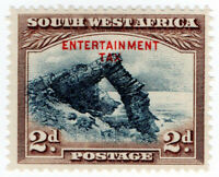 (I.B-BOB) South-West Africa Revenue : Entertainment Tax 2d