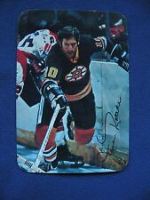 1977 Topps Jean Ratelle Bruins card #16 Glossy Hockey mini S&H $1 NHL