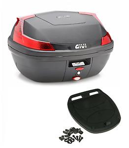Givi Monolock topcase B47 Nml blade tech - 47 Litro - Nero Incl. Kit di