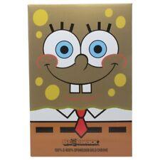 Medicom Be@Rbrick SpongeBob SquarePants Gold Chrome 100% 400% Bearbrick Figure S