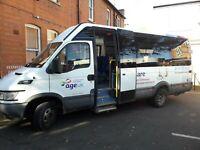 IVECO IRIS BUS 17 SEAT WHEELCHAIR ACCESSIBLE MINIBUS 2006