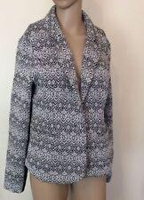 Geometric Regular Size Blazer for Women