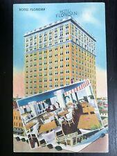 Vintage Postcard>1948>Hotel Floridian>Tampa>Florida
