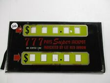 Slot Machine Glass (Progressive)