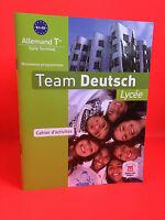 Equipo Alemán Tle Cycle Terminal Cuaderno Actividad 2013