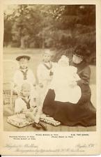 Königin Victoria von England mit Urenkeln Vintage silver print.  Tirage arge