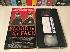 * Blood In The Face Neo-Nazi Documentary VHS 1991 Michael Moore KKK Aryan Nation