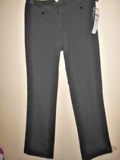 FORCAST charcoal PANTS size 8 NEW&tags $59 grey April stripe work dress stretch