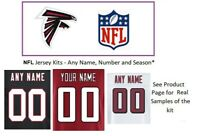 NFL Atlanta Falcons Jersey Kit Custom Lettering ANY YEAR Name Number UNSEWN