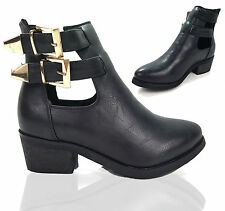 Unbranded Buckle Block Heel Shoes for Women