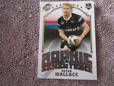 2007 NRL Select Invincibles Rookie Sensations Peter Wallace Penrith Panthers