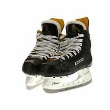 NOB Bauer Supreme S150 Ice Hockey 2E Goal Skates in Black / White / Yellow - 3.5