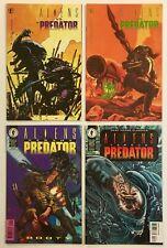 Aliens vs Predator #s 0, 1, Booty, Classics Mixed Dark Horse Comic Book Lot of 4