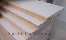 Werkbankplatte 40mm Multiplexplatte 90,-€/m² BFU100 Birke Sperrholz Holzplatte