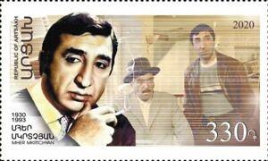 Artsakh Karabak Armenia 2020 MNH** Mi 230 Mher Mkrtchyan Frunzik USSR Film Actor