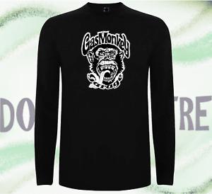 Gas Monkey Garage Fast N /'Loud Camisa Suéter Pulóver Manga Larga Dallas Schwarz