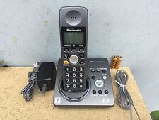 Panasonic Kx-Tg1034B 6.0 Kx-Tg1034 Cordless Phone System With 1 Kx-Tga101B .