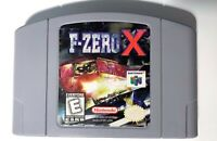 F-Zero X NINTENDO 64 N64 Game Tested + Working & Authentic!