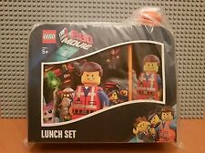 LEGO THE MOVIE / LUNCH SET / BOX & BOTTLE /COLLECTORS / GIFT/ SCHOOL/EMMETT/NEW✔