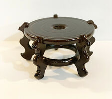 9/7/6 in Oriental Flower Vase Pot Stand Rosewood Home Decorative Display Base