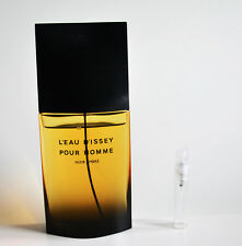 *SAMPLE SIZE 5 ML VIAL* Issey Miyake Noir Ambre Parfum 5 ML *READ DESCRIPTION*