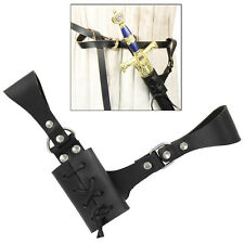 Renaissance Rapier Medieval Raven Broadsword Rapier Leather  Sword Frog