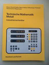 3 Bücher Tabellenbuch Metall- Maschinentechnik Fachkunde Metall Mathematik