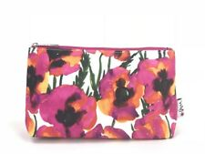 1x CLINIQUE Makeup Cosmetics Bag decorated with Flower Pattern, Brand New!