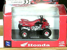 QUAD HONDA  400 SPORTRAX  : MODELE REDUIT NEW RAY 1/32