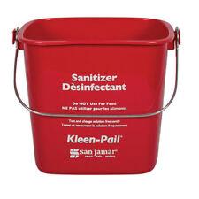 Kleen-Pail Soap/Sanitizing Solution Safety Pail 6 Quart, Green