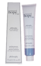 PHILOSOPHY 2.5oz Renewed Hope in a Jar Peeling Mousse Instant Glow Facial 2.5 oz