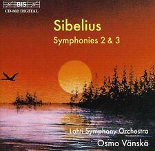 Osmo V nsk, J. Sibelius - Symphonies 2 & 3 [New CD]