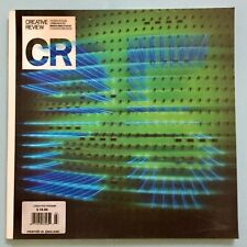 CREATIVE REVIEW MAGAZINE 25th ANNIV. SPECIAL ISSUE MARCH 20O5 LENTICULAR COVER