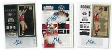 2017 Panini Contenders football George Kittle rookie auto lot of 3 /99 ++ HOT