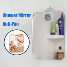 Anti Fog Bathroom Shower Mirror No Fog Shaving Fogless Suction Cup Mount