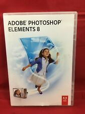 ADOBE PHOTOSHOP ELEMENTS 8 - MAC OS / APPLE with Serial No