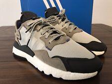 Adidas Nite Jogger - EE5867- Ash Silver / Black Men's Size 8.5 - Brand New