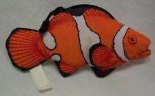"Wendy's NICE CLOWN FISH COIN PURSE 5"" Plush STUFFED ANIMAL"